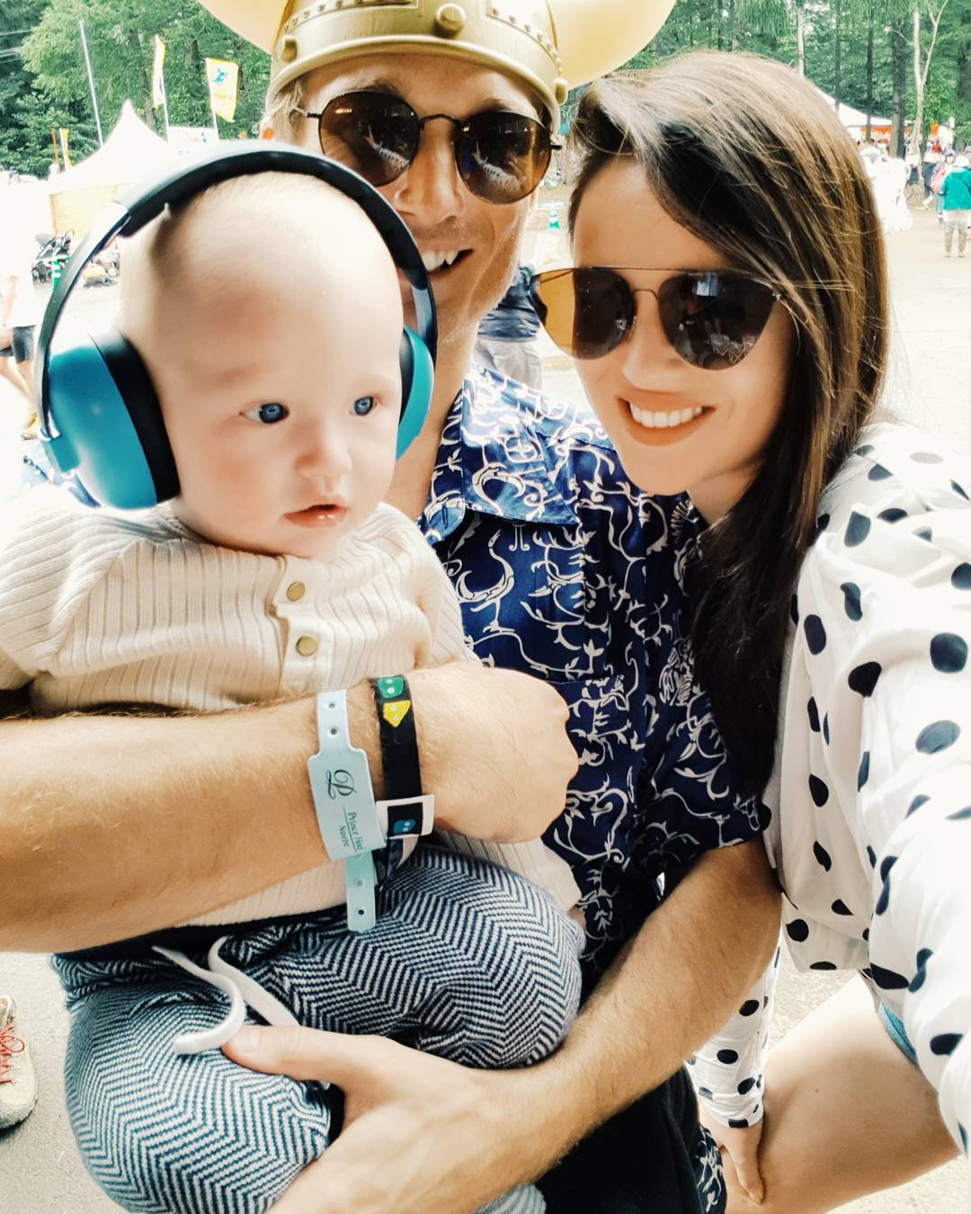 Georgina Wilson with Family
