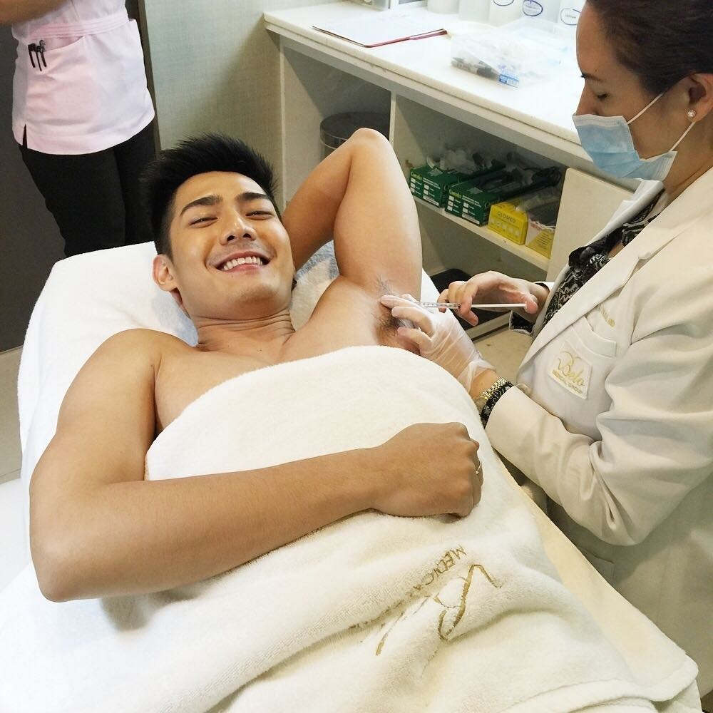 Why More Men Are Using Botox To Stop Excess Sweat | Belo