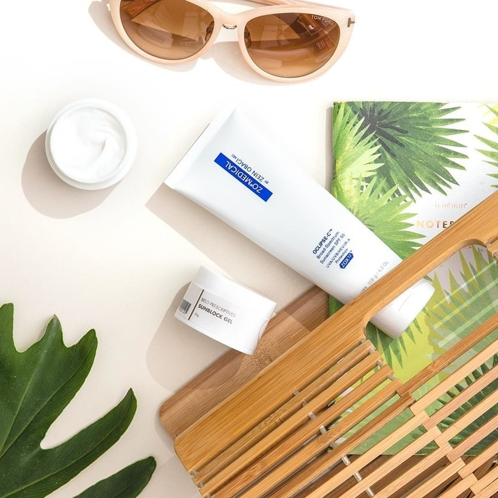 Belo Prescriptive Sunblock Gel SPF 15 and ZO Oclipse-C SPF 50 products in the Philippines