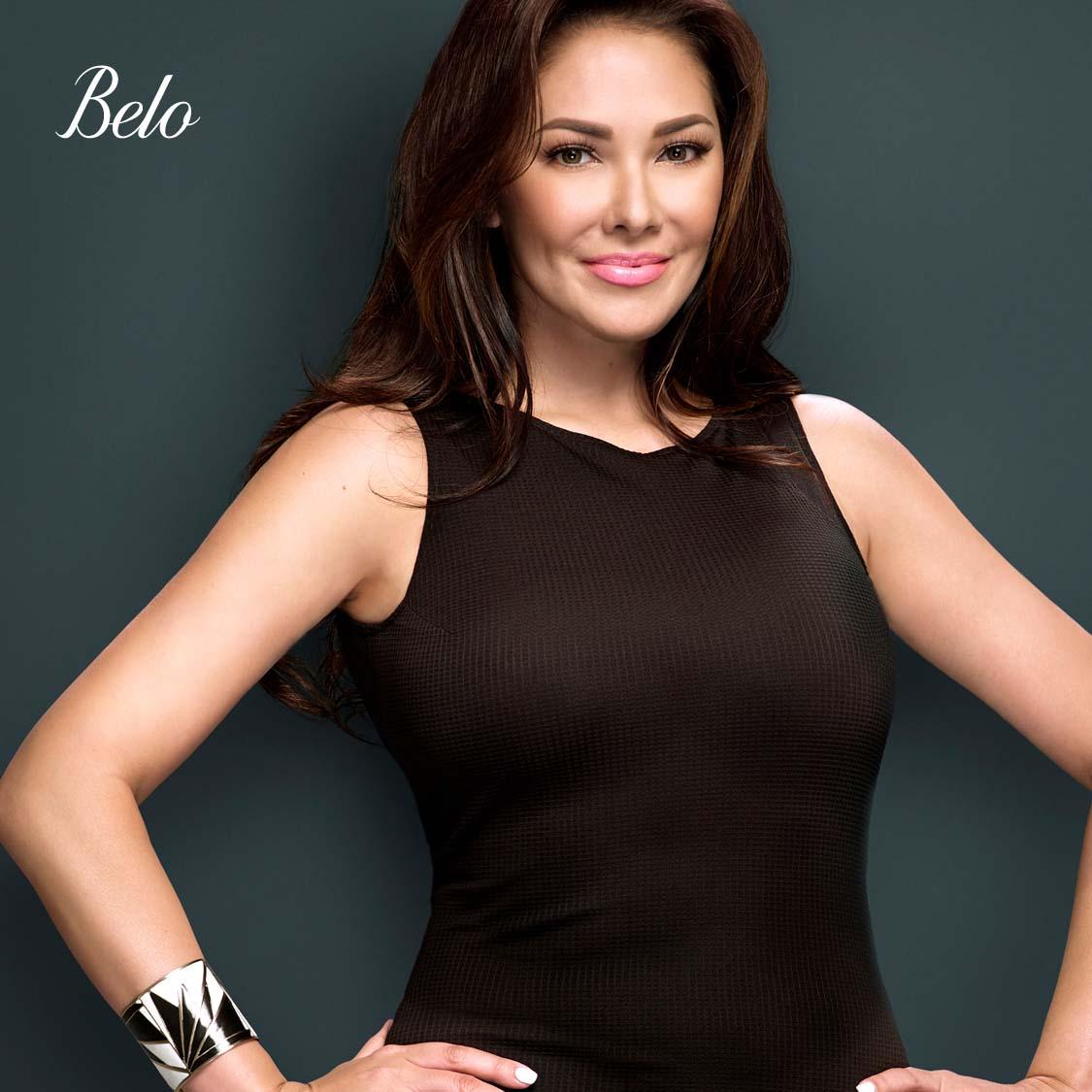 Ruffa Gutierrez before arm liposuction