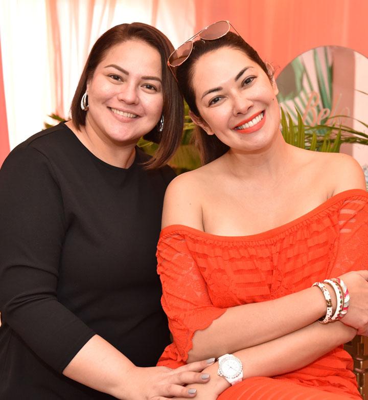 Karla Estra with Ruffa Gutierrez