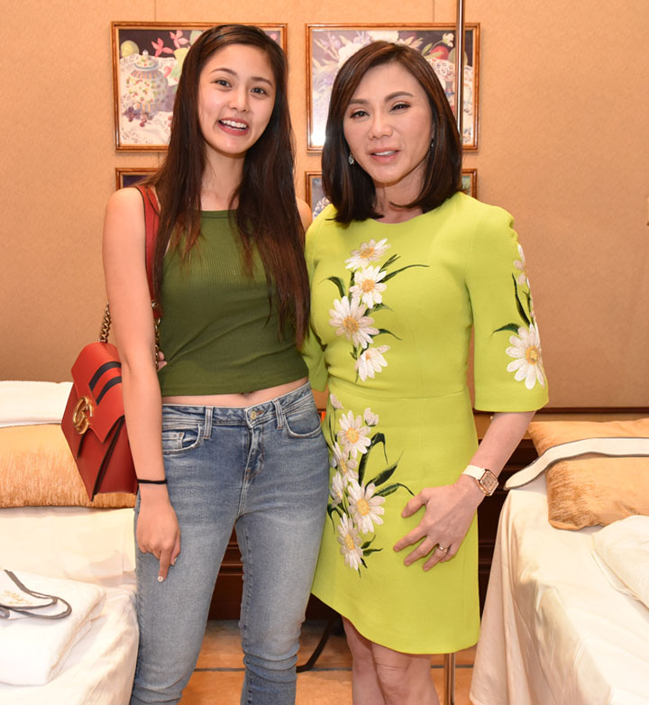 Kim Chiu with Dr. Vicky Belo