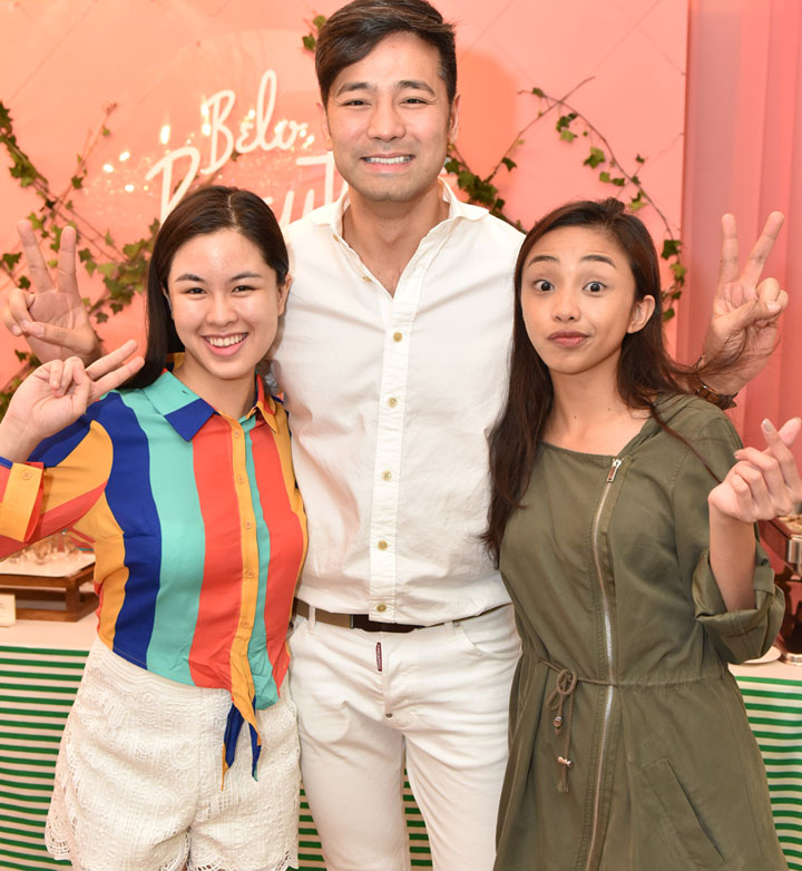 Kisses Delavin and Maymay with Dr. Hayden Kho