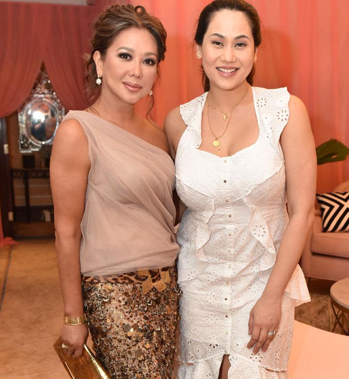 Korina Sanchez with Cristalle Belo-Pitt