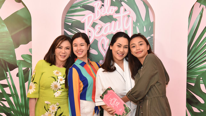 celebrities tried at the Belo Beauty Suite