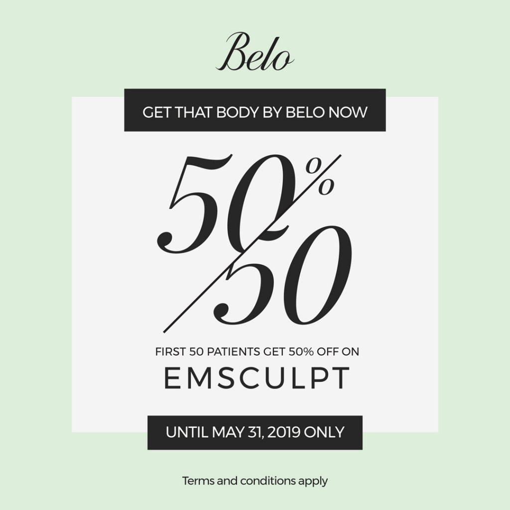 50% OFF On Belo Emsculpt