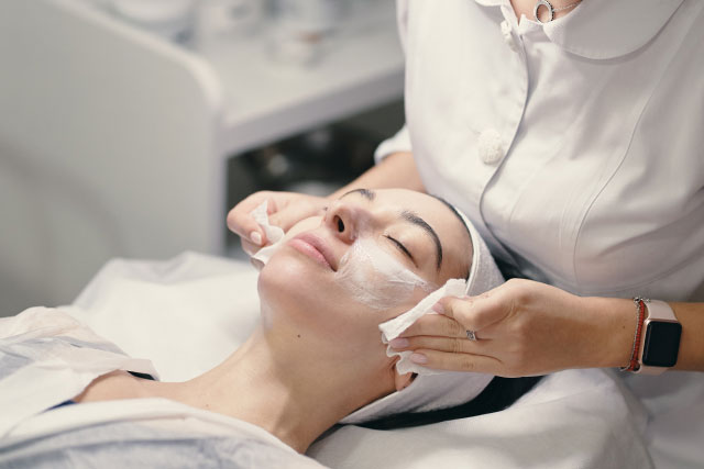 Glycopeel cleaning treatment