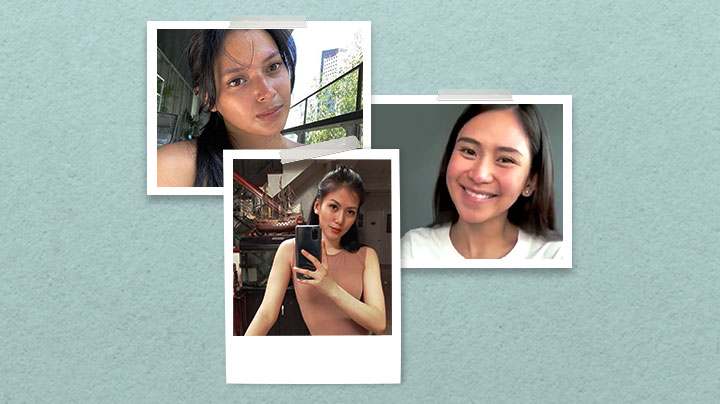 makeup-free selfies from your favorite Belo babies