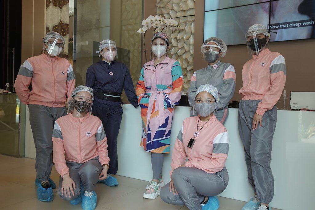 Belo clinic staffs